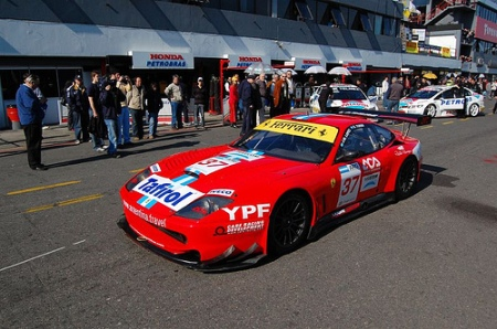 Ferrari F550 Maranello - Sponsored