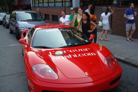 Breakthrough Cambridge Ferrari Photo Opportunity