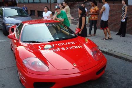 Breakthrough Cambridge / Ferrari4Charity Photo Opportunity